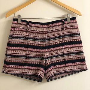 LOFT by Ann Taylor Aztec Print Shorts